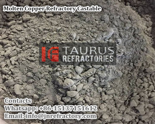 Molten Copper Refractory Castable
